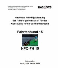 Fährtenhund PO15 Deutsch