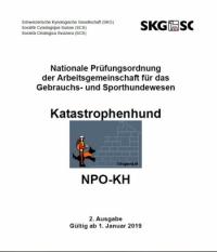 Katastrophenhund PO15 Deutsch