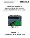 Chien de piste 15 / RNC-CP 15